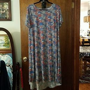 2xl Lularoe 2018 American dreams  Carly nwot